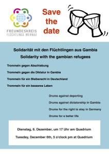 Plakat Gambiawoche